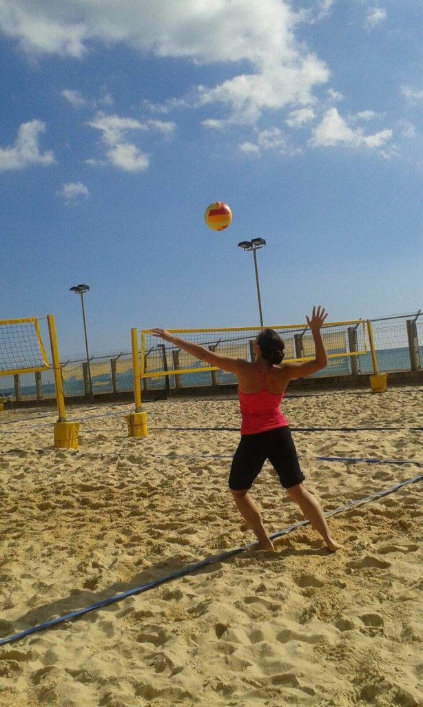 Beachvolleyballfun